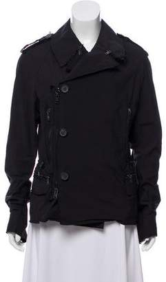 Lanvin Raw-Edge Deconstructed Jacket
