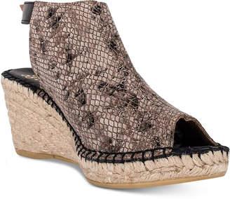 Andre Assous Lissa Slingback Wedge Sandals Women's Shoes $149 thestylecure.com
