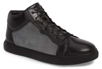 Zanzara Twist Perforated High Top Sneaker