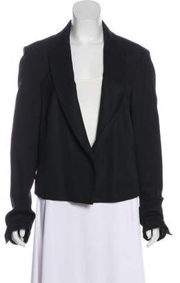 J Brand Wool Blend Notch-Lapel Blazer