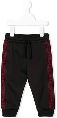 Dolce & Gabbana side panelled track pants