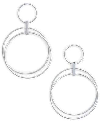 Halogen Multi Ring Hoop Earrings