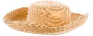 Eric Javits Woven Wide-Brim Hat