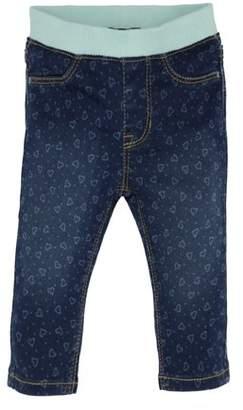 8d4ba8364fd Jordache Baby Girl Knit Waistband Heart Printed Skinny Denim Jeans