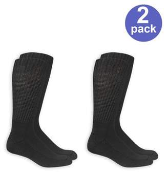 Dr. Scholl's Men's Diabetic and Circulatory Wide Leg Socks 2 Pack