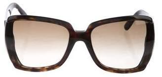 Stella McCartney Oversize Gradient Sunglasses