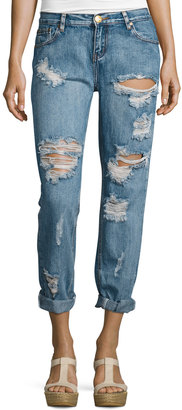 One Teaspoon Awesome Baggies Jeans, Light Blue Cobain $99 thestylecure.com