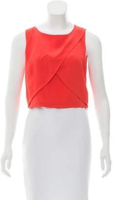 Rebecca Minkoff Silk Crop Top