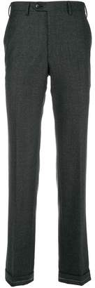 Brioni classic cropped trousers