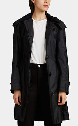 Burberry Women's Tech-Taffeta Raincoat - Black