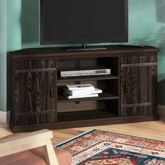 "Millwood Pines Esmeyer Corner TV Stand for TVs up to 60"" Millwood Pines"