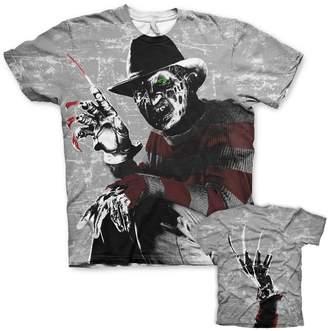 Freddy Nightmare On Elm Street Officially Licensed Merchandise Kruger Allover T-Shirt