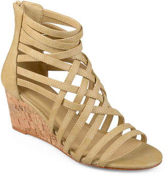 Journee Collection Twyla Wedge Sandal - Women's