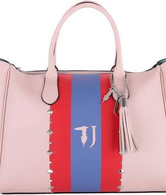 Trussardi Blondie Faux Leather Tote Bag