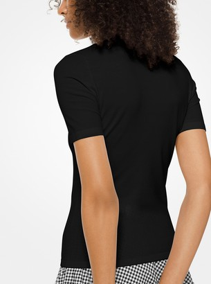 Michael Kors Stretch-Viscose T-Shirt