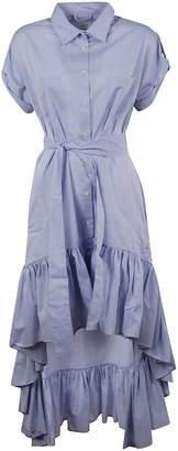 Sara Roka Asymmetric Hem Dress
