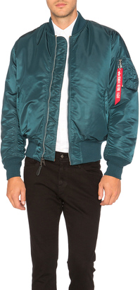 ALPHA INDUSTRIES MA 1 Bomber Jacket $135 thestylecure.com