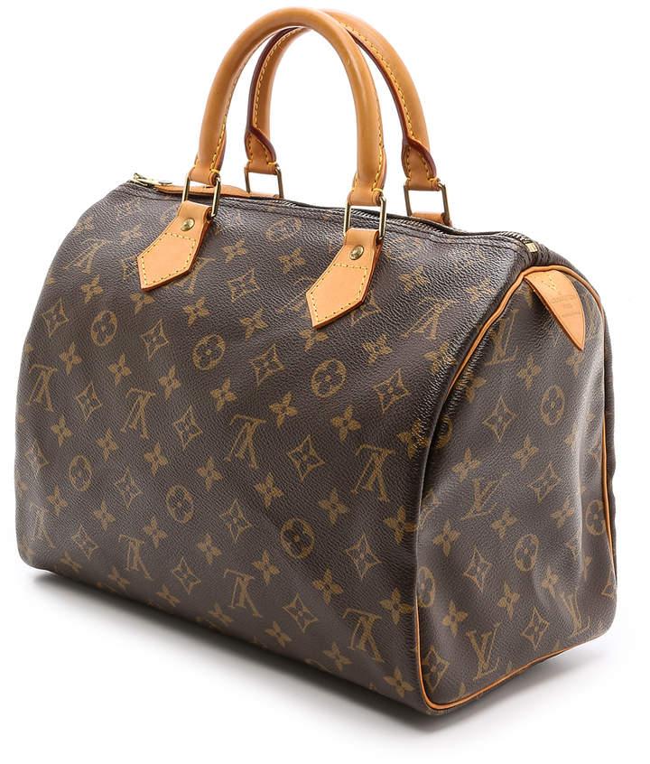 What Goes Around Comes Around Louis Vuitton Monogram Speedy 30 Bag 4