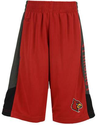 Colosseum Louisville Cardinals Strike Shorts, Big Boys