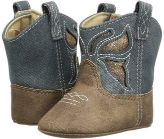 Baby Deer Soft Sole Western Boot Girl's Shoes