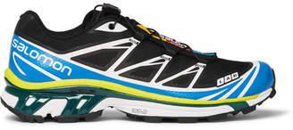 Salomon S/Lab XT-6 Softground ADV Running Sneakers - Men - Blue
