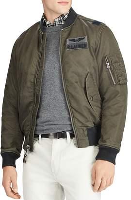 Polo Ralph Lauren Twill Bomber Jacket