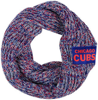 Forever Collectibles Chicago Cubs Peak Infinity Scarf