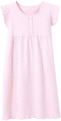ABClothing Girls Pyjamas PJS Shortie Dress Long Shirt 6-6x