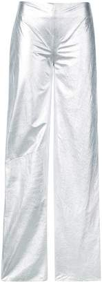 Rubin Singer metallic loose fit trousers
