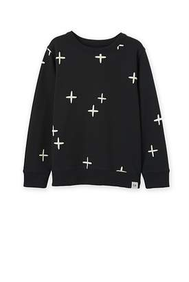 Country Road Cross Sweat Top