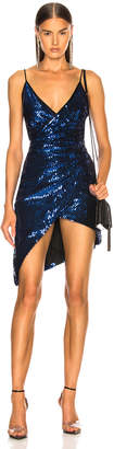 David Koma Sequin Strappy Dress