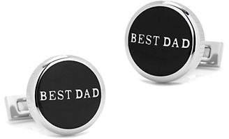 Cufflinks Inc. Best Dad Stainless Steel Cufflinks