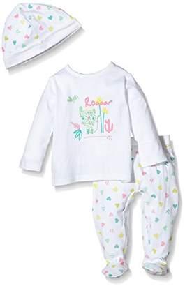 3 Pommes Unisex Baby Sweet Night Clothing Set,6-9 Months