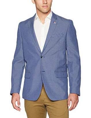 Ben Sherman Men's Mini Check Sport Coat