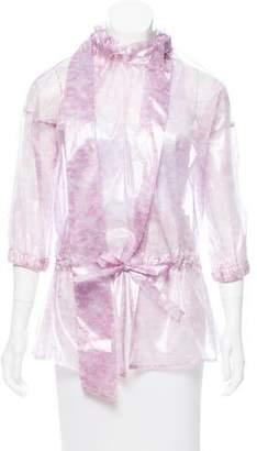 Thakoon Printed Translucent Jacket