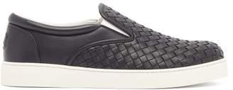 Bottega Veneta Dodger Intrecciato leather trainers