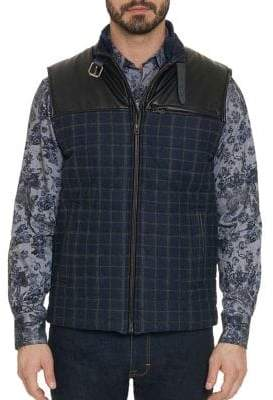Robert Graham McClement Wool-Blend Vest