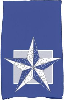 Holiday Essence Night Star Geometric Print Kitchen Towel