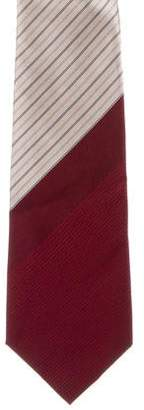 Givenchy Striped Silk Tie