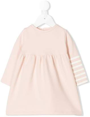 Douuod Kids striped sleeve dress