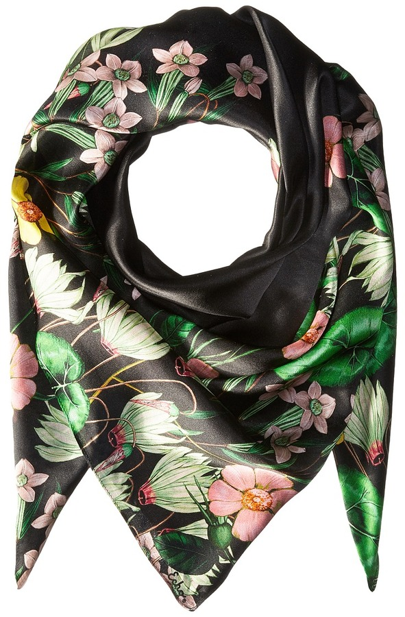 Echo Design - Garden Party Silk Square Scarf Scarves