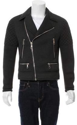 Neil Barrett Moto Zip-Up Jacket
