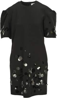 MSGM Dress Manica Corta Pailettes