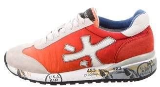 Premiata Suede Trim Sneakers