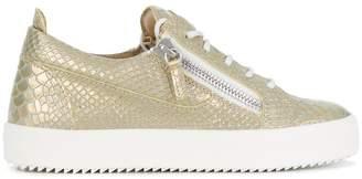 Giuseppe Zanotti Design Nicki python sneakers
