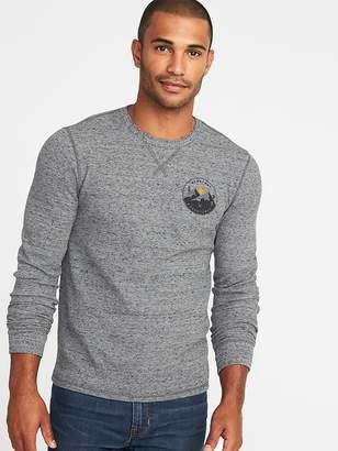Old Navy Graphic Built-In Flex Thermal-Knit Tee for Men