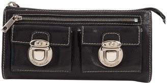 Marc Jacobs Black Leather Wallets