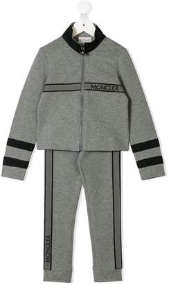 Moncler zipped sweatshirt and track pants set