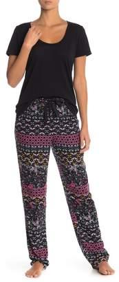 Josie Printed Woven Drawstring Pajama Pants