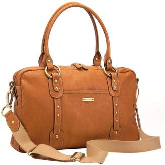 Storksak Elizabeth Diaper Bag in Leather